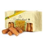Рулетики вафельные Confashion Сладкий свиток с ореховым вкусом, 3кг