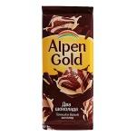 Шоколад Alpen Gold два шоколада, 90г
