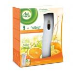Диспенсер автоматический для освежителя воздуха Air Wick Freshmatic анти-табак апельсин и бергамот,