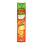 Освежитель воздуха аэрозоль Provence Green Collection солнечный апельсин, 300мл