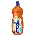 Средство для мытья посуды Aos 1л, ромашка/витамин Е