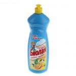 Средство для мытья посуды Биолан 1л, апельсин/ лимон, гель
