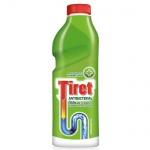 Средство для прочистки труб Tiret Антибактериальный 0.5л, гель, скидка 25%