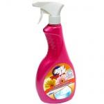 Чистящее средство Адрилан для акриловых ванн и душевых кабин 500мл, с цветочным ароматом, спрей