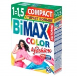 Стиральный порошок Bimax Compact 0.4кг, Color&Fashion, автомат