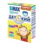 Стиральный порошок Bimax Compact 0.4кг, Color, детский, автомат