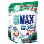 Стиральный порошок Bimax Compact 3кг, белоснежные вершины, автомат, дой-пак