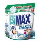 Стиральный порошок Bimax Compact 5.5кг, белоснежные вершины, автомат, дой-пак