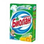 Стиральный порошок Биолан 0.35кг, апельсин и лимон, автомат