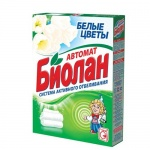 Стиральный порошок Биолан 0.35кг, белые цветы, автомат