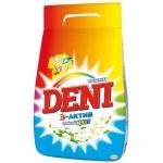 Стиральный порошок Deni 3кг, стойкий цвет, автомат