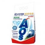 Стиральный порошок Aos 3кг, белое и белоснежное, автомат