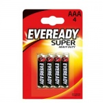 Батарейка Energizer Super Heavy Duty ААА/R03, 1.5В, солевая, 4шт/уп