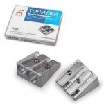 Точилка Beifa 2 отверстия, металлическая, AG1006A