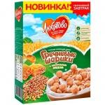 Готовый завтрак Любятово гречневые шарики с мёдом, 200г