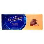 Шоколад Fazer с крошкой печенья, молочный, 200г