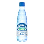 Вода питьевая Шишкин Лес, ПЭТ, газ  0,4 л
