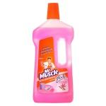 Средство для мытья пола Мистер Мускул 0.75л, цветочное совершенство, жидкость