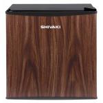 Мини-холодильник Shivaki SHRF-54CHT 50л, темное дерево, 45х47.2х49.2 см