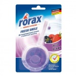 Освежитель для унитаза Rorax лесные ягоды, гелевый с держателем