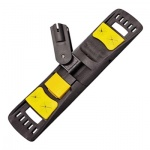 Держатель для мопов Vermop Спринт Плюс 40см, с клипсами, желтый, 0040