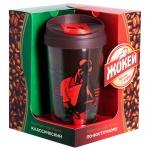 Кофе молотый Жокей набор с термокружкой 2 сорта х 250г, пачка