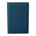Ежедневник недатированный Attache Сиам бирюзовый, А5, 176 листов, искусственная кожа