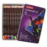 Набор цветных карандашей Derwent 12 цветов