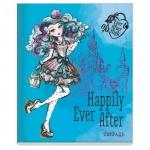 Тетрадь общая Mattel Ever After High Happily ever after, А5, 48 листов, в клетку, на скрепке, мелованный картон