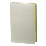 Ежедневник недатированный Infolio In my style серый, А5, 160 листов, искусственная кожа, фисташковый