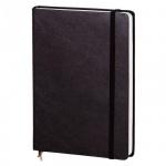 Ежедневник недатированный Attache Portofino черный, А5, 176 листов, балакрон
