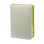 Ежедневник недатированный Infolio In my style серый, А6, 144 листа, искусственная кожа, фисташковый