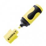 Текстовыделитель Edding 7 желтый, 1-3мм, скошенный наконечник, мини