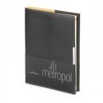 Ежедневник недатированный Bruno Visconti Metropol черный, А5, 136 листов