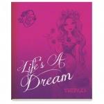 Тетрадь общая Mattel Ever After High Life's a dream, А5, 48 листов, в клетку, на скрепке, мелованный картон