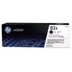 Картридж лазерный Hp 83X CF283X, черный