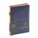Ежедневник недатированный Bruno Visconti Polo синий, А5, 160 листов, искусственная кожа