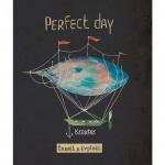 Тетрадь общая Kroyter Perfect Day, А5, 48 листов, в клетку, на скрепке, мелованный картон