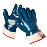 Перчатки защитные Ansell Хайкрон р.XXL, 1 пара, синий/белый, нитриловое покрытие, 27-805