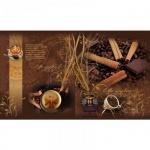 Тетрадь общая Мировые Тетради Кофейная симфония, А5, 96 листов, в клетку, на скрепке, картон