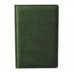 Ежедневник недатированный Attache Сиам зеленый, А5, 176 листов, искусственная кожа