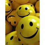 Тетрадь общая Yellow Smile ассорти, А5, 80 листов, в клетку, на спирали, картон