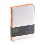 Ежедневник недатированный Bruno Visconti Polo белый, А5, 160 листов, искусственная кожа