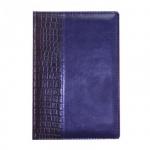 Ежедневник недатированный Attache синий, А5, 176 листов, искусственная кожа