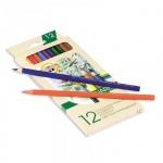 Набор акварельных карандашей Koh-I-Noor Mondeluz 12 цветов, 3716