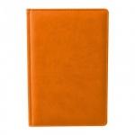 Ежедневник недатированный Attache Сиам оранжевый, А6, 176 листов, искусственная кожа