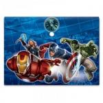 Папка-конверт на кнопке Marvel Мстители, A4, 180мкм