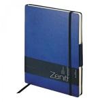 Ежедневник недатированный Zenith темно-синий, B5, 136 листов, искусственная кожа