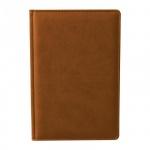 Ежедневник недатированный Attache Сиам коричневый, А6, 176 листов, искусственная кожа