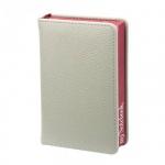 Ежедневник недатированный Infolio In my style бордовый, А6, 144 листа, искусственная кожа, золотой с
